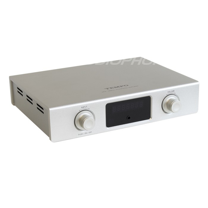 TEMPO eA3 ICEPOWER Amplifier Source selector Headphone Amplifier 2x 25W / 8 Ohm