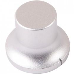 Bouton Aluminium Style Chapeau Axe Méplat 34×22×26mm Ø6mm