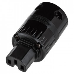 WATTGATE 320 evo Black IEC Power plug Ø 19mm