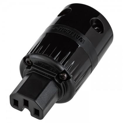 WATTGATE 320 evo Black IEC Power plug Ø 19mm