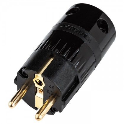 WATTGATE 360 evo Black Schuko Power plug Ø 19mm