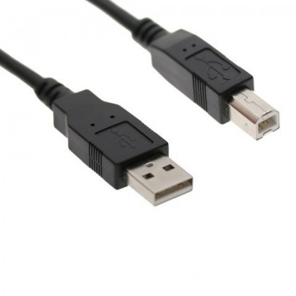 USB-A male / USB-B male 2.0 cable AWM 2725 1.5m
