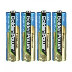 GoldenPower LR6 AA Alkaline Battery 1.5V (Set x4)