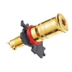 WBT-0730.01 Topline Gold plated 24k Binding post (Set x4)