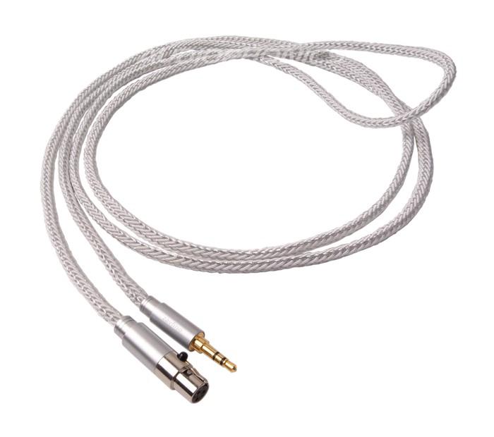 1877PHONO CALI WHITE 3.5-MINI XLR Câble pour casque Jack 3.5mm / Mini XLR 3m