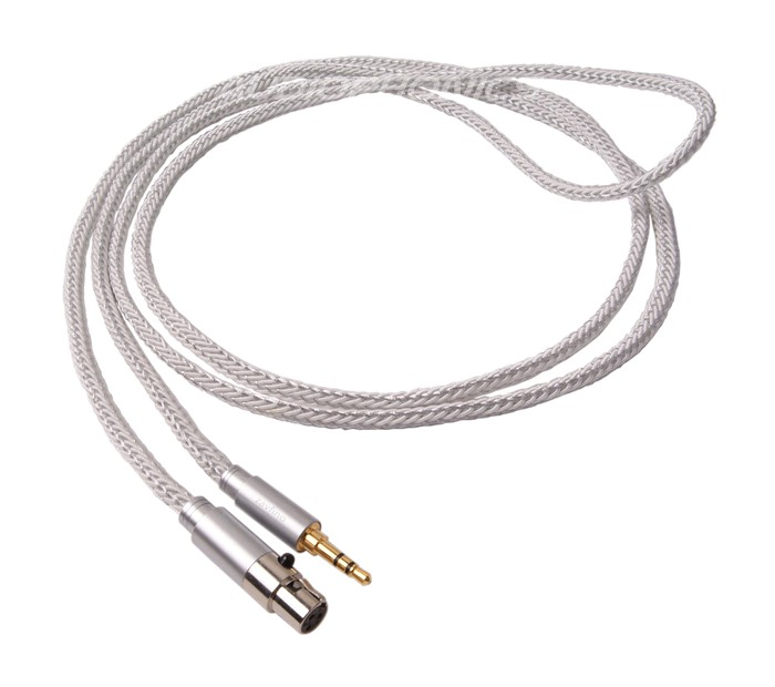 1877PHONO CALI WHITE 3.5-MINI XLR Headphone Cable Jack 3.5mm / Mini XLR 3m
