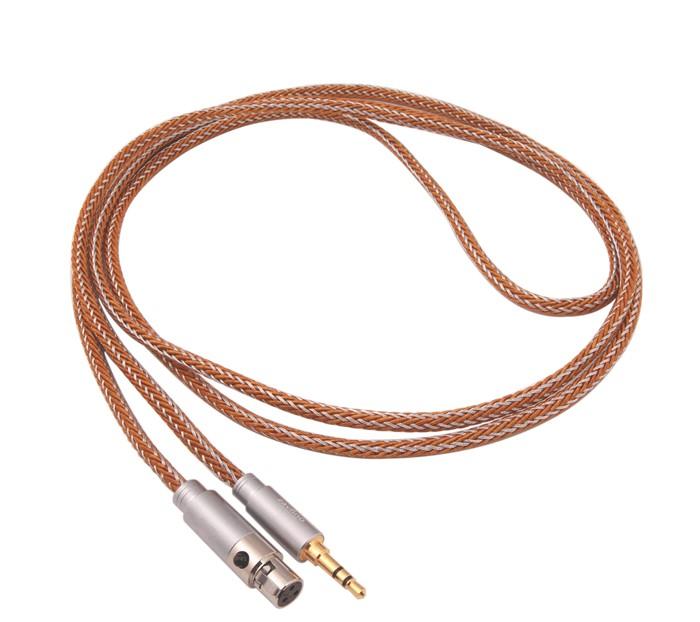 1877PHONO CALI COPPER 3.5-MINI XLR Headphone Cable Jack 3.5mm / Mini XLR 3m