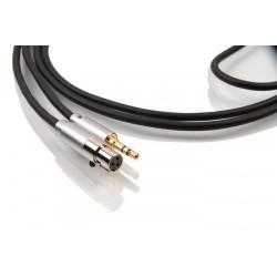 1877 PHONO Zavfino Graphite Câble de modulation pour écouteurs Jack 3.5mm / Mini XLR 2.0m