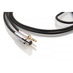 1877 PHONO Zavfino Graphite Headphone Cable Jack 3.5mm / Mini XLR 2.0m
