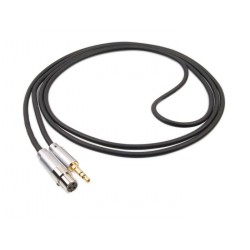 1877 PHONO Zavfino Hemi-HP Graphite Headphone Cable Jack 3.5mm / Mini XLR 2.0m