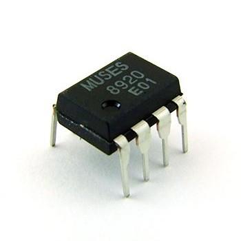 NJR MUSES 8920 Dual OPA J-FET DIP8 (Unit)