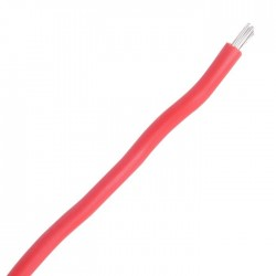 LAPP KABEL PTFE260-20 Multistrand wiring cable PTFE Silver plated 0.65mm² Red