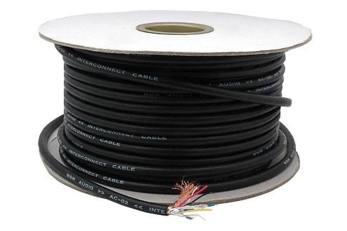W&M Audio AC-02 Câble de modulation 2 Paires Symétrique OCC Ø7.8mm