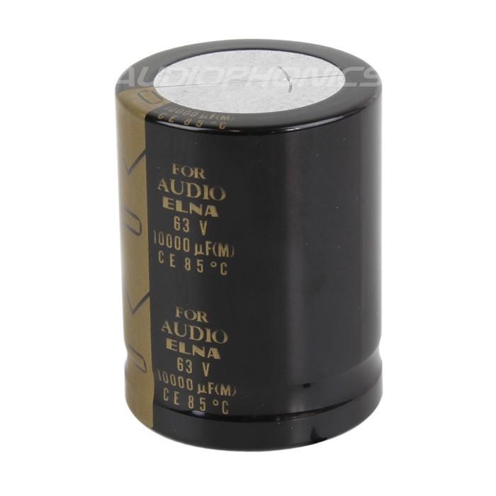 ELNA Condensateur Électrolytique Hautes Performances 63V 10000µF
