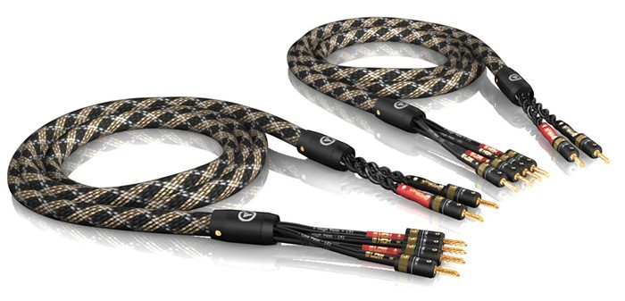 VIABLUE SC-4 Speaker Cables Bi-Wiring 1.50m (The Pair)