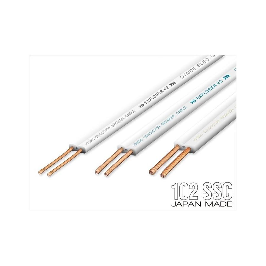 OYAIDE EXPLORER V2 Speaker Cable 102 SSC Copper 2x2mm² - Audiophonics