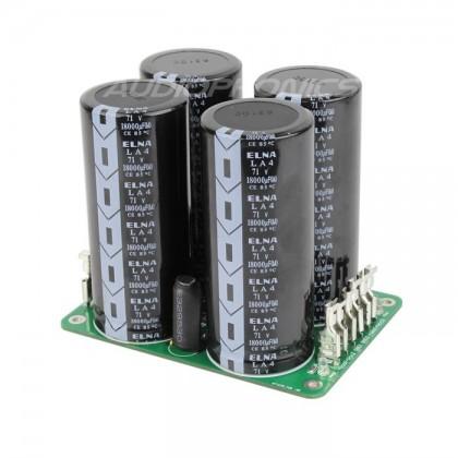 LPS212A Dual linear Power Supply board 4x 18000µF Elna 71V