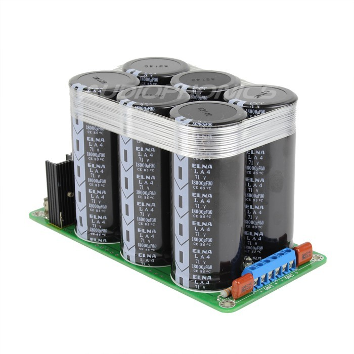 LPS220A Dual linear Power Supply board 4x 18000µF Elna 71V
