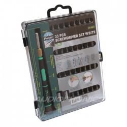 Pro'sKit SD-9803 Kit Tournevis 33 pièces