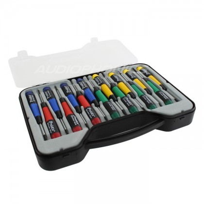 Pro'sKit SW-0118 Set of 15 Precision screwdrivers