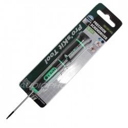 Pro'sKit SD-081-H3 Tournevis Hex de Précision 1.3x50mm
