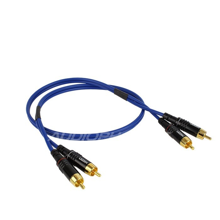 SOMMERCABLE ONYX 2025 RCA Cable Gold Plated RCA-RCA 0.75m