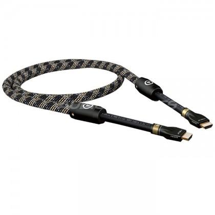 Viablue S-900 HDMI Silver - HDMI V1.4 0.75m Ethernet