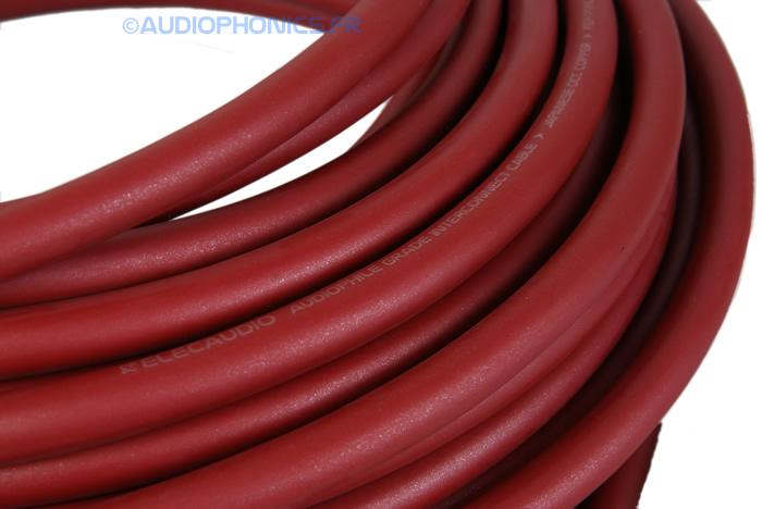 ELECAUDIO SC-221OCC Câble de modulation symétrique OCC PTFE Ø 8.6m