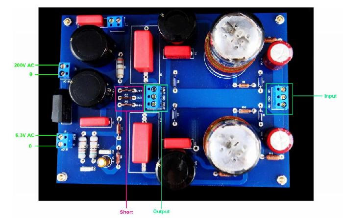 AMC - Kit Preamp module SRPP tube 6SN7 - Audiophonics