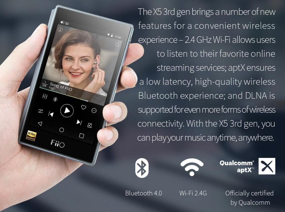 Fiio X5 3rd gen Bluetooth Apt-X