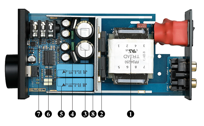 Intérieur SMSL SAP-1