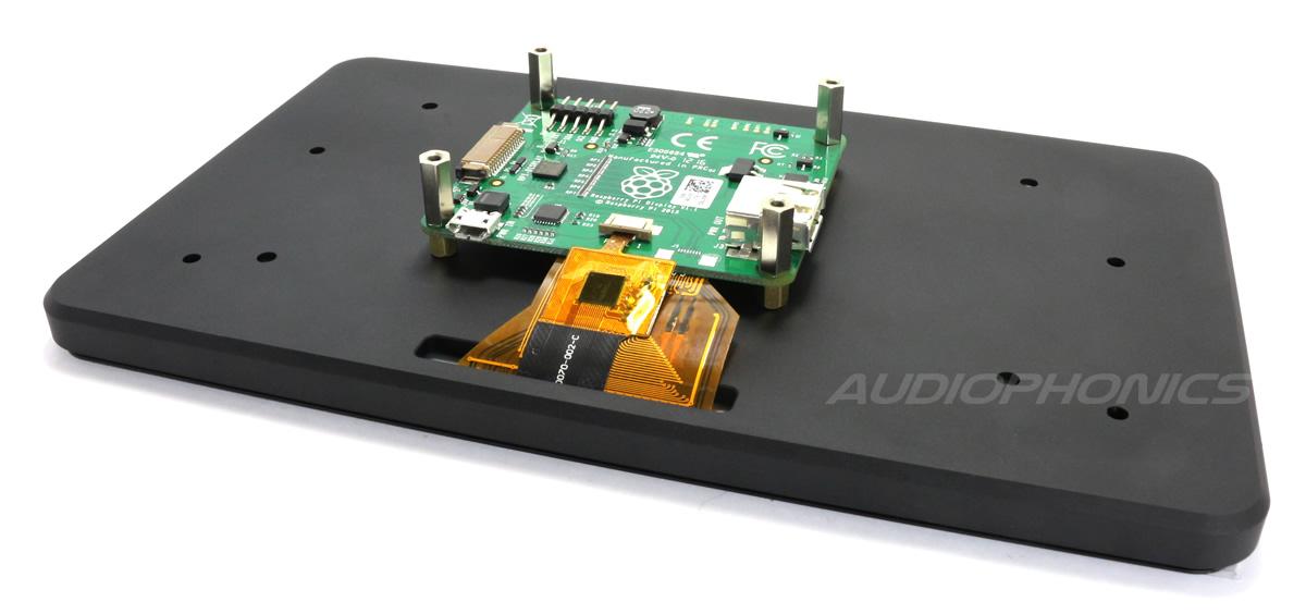 """Ecran LCD 7"""" Tactile Capacitif Raspberry Pi 2 / Pi 3 800x480"""