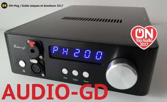 Audio-GD NFB-1AMP Coup de Coeur ON-Top Mag