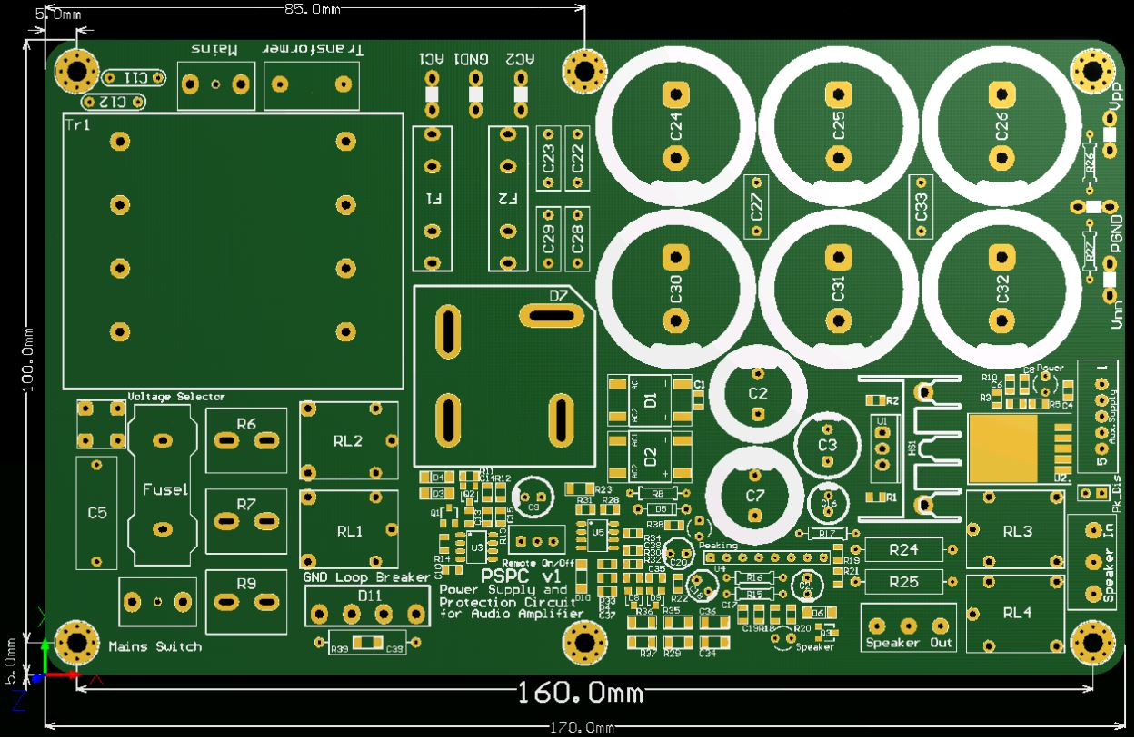 Cotations alimentation PSPC 230V