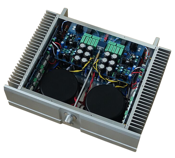 Boitier DIY aluminium - amplificateur audio