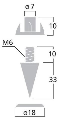 Dimension Monacor SPS-35