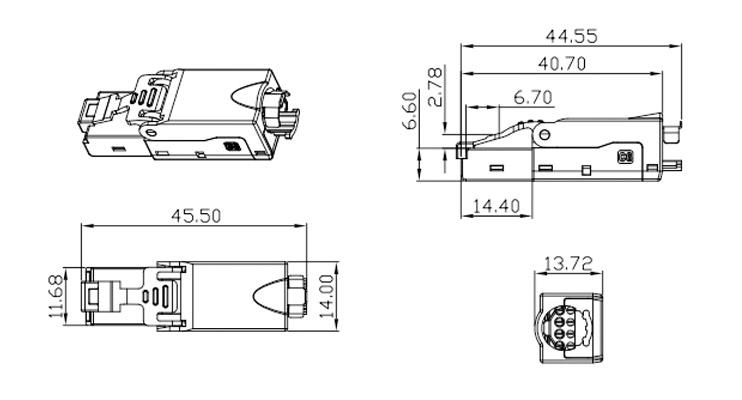 Cotations Connecteur RJ45 Elbac