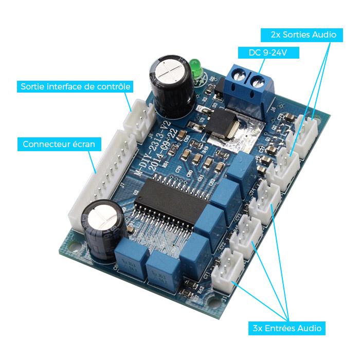 FX-Audio processeur audio contrôle volume / tone