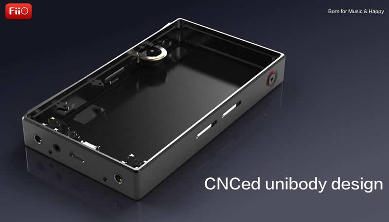 CNC Body Aluminium Fiio X5