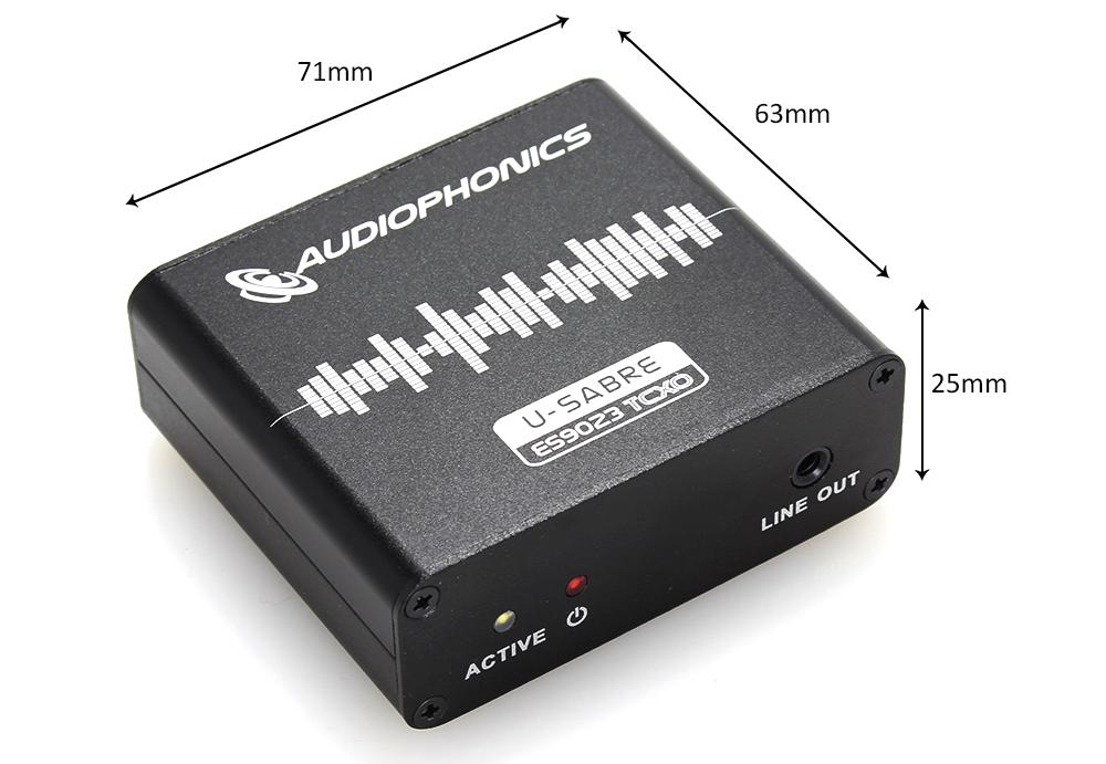 Audiophonics ES9023 TCXO