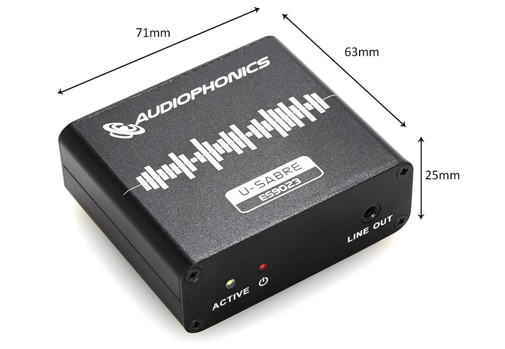 Audiophonics U-Sabre ES9023