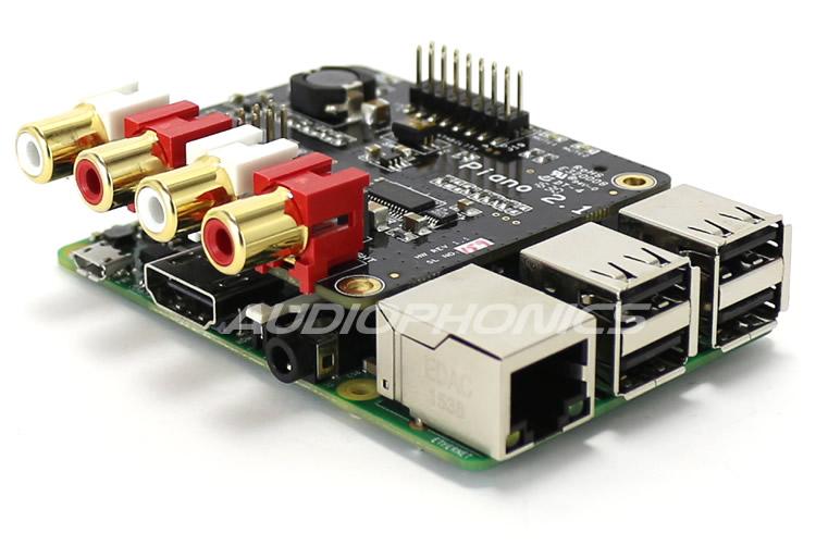 ALLO PIANO HIFI DAC + Raspberry Pi 3