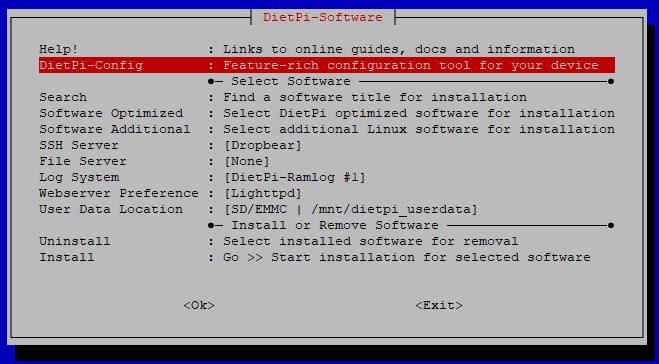 dietpi-software