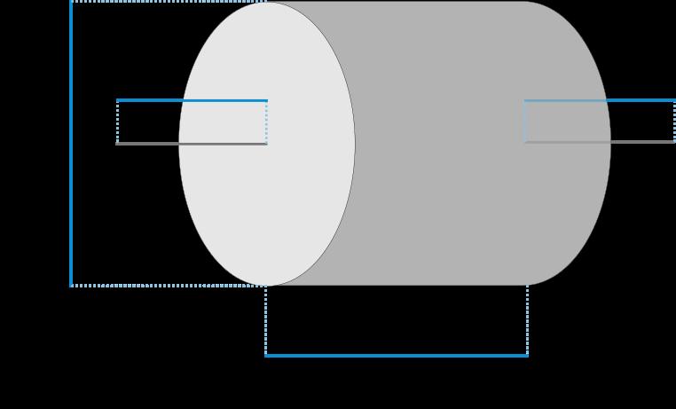 Capacitor dimensions
