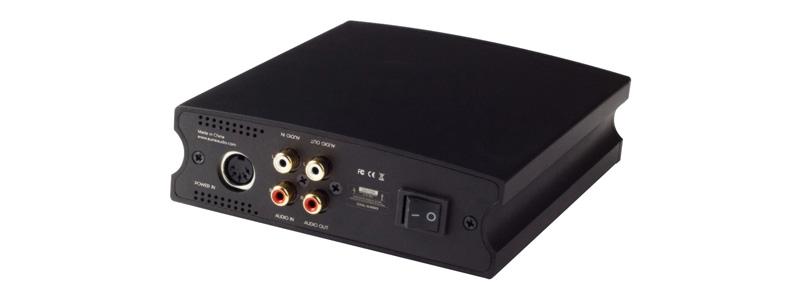 Aune X7S Amplificateur Casque Class A Sortie Variable / Symétrique Noir