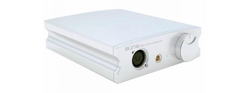 Aune X7S Amplificateur Casque Class A Sortie Variable / Symétrique Argent