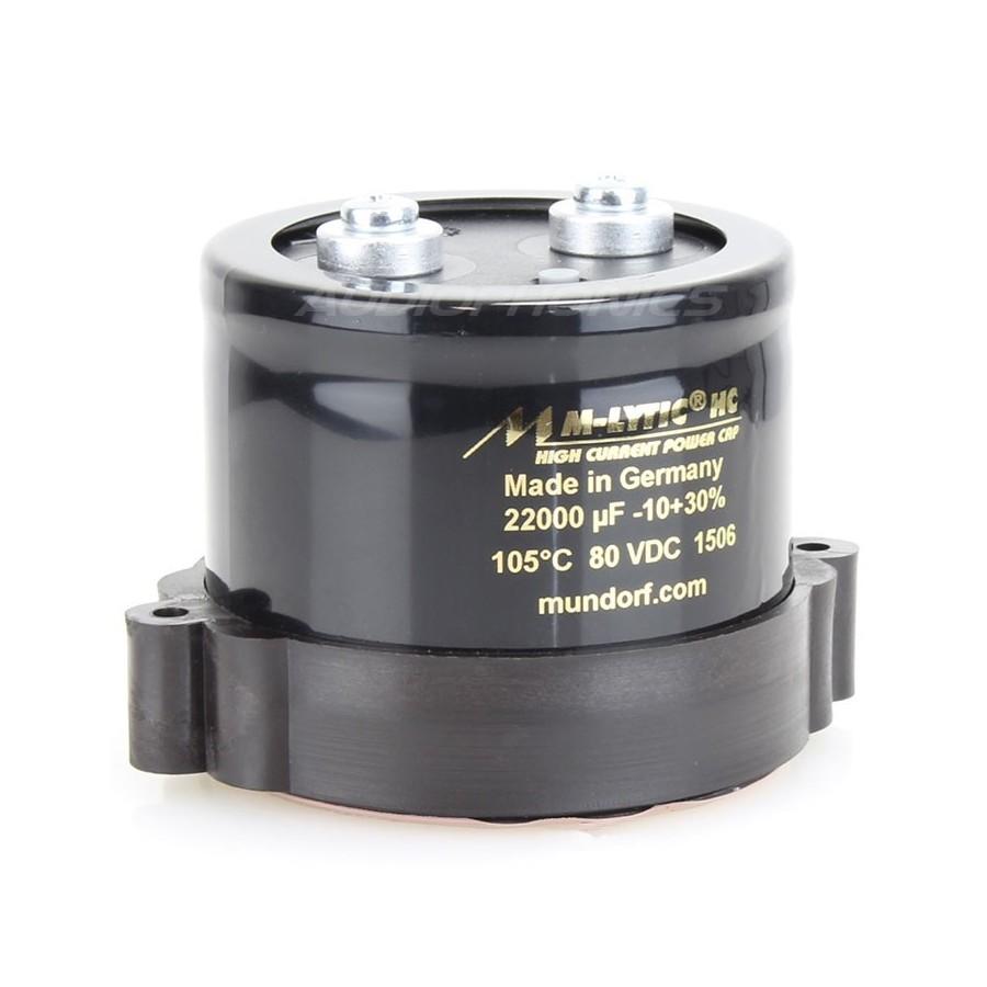 Mundorf audiophile capacitor Mlytic