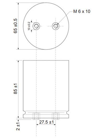 Mundorf TubeCap Condensateur 550V 200µF