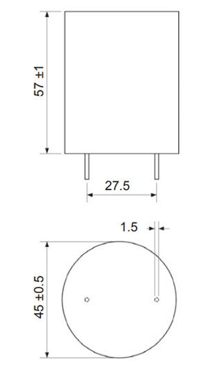 Mundorf TubeCap Condensateur 550V 47µF