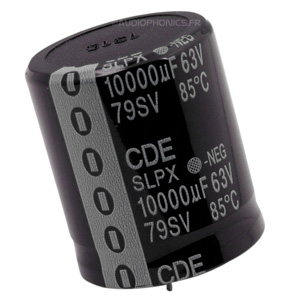 Cornell Dubilier 380LX Condensateur Aluminium